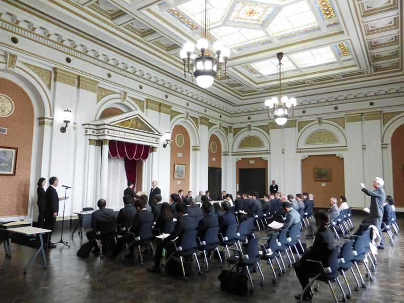 弊社の職人が文部科学大臣表彰を受けました。