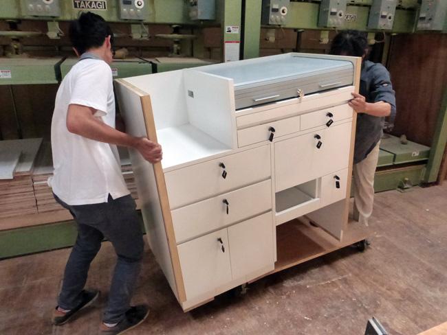 現地研修 造作家具