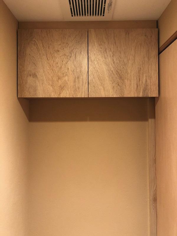 吊戸棚 吊棚 クリアラッカー塗装