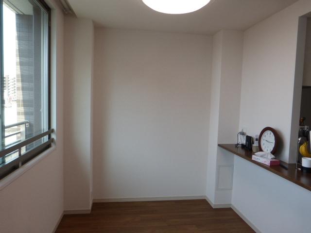 家具設置前 壁面
