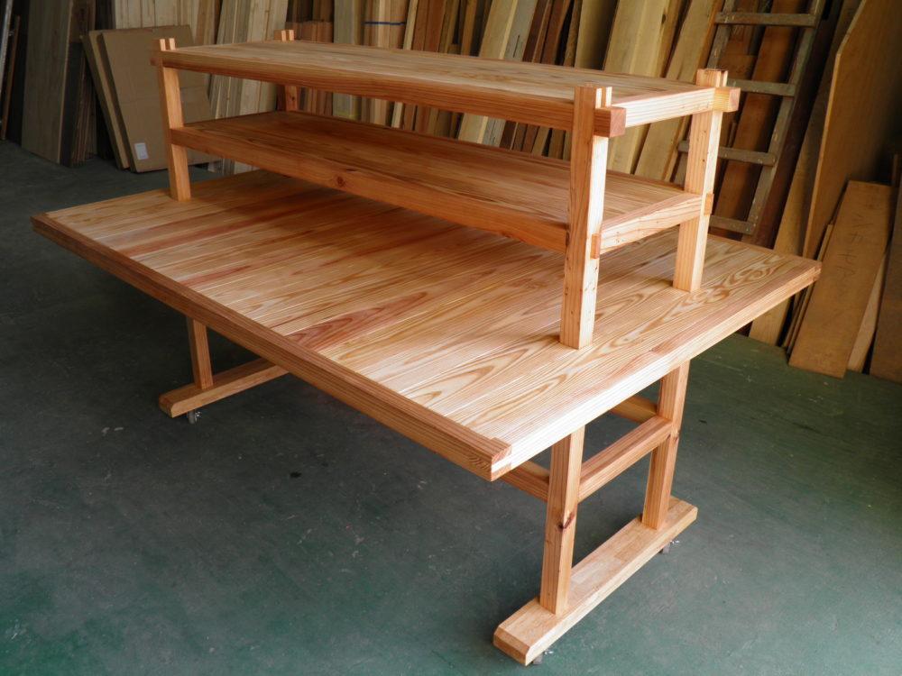 スギ材の家具