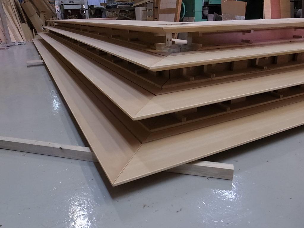 突板仕上げ 特注家具