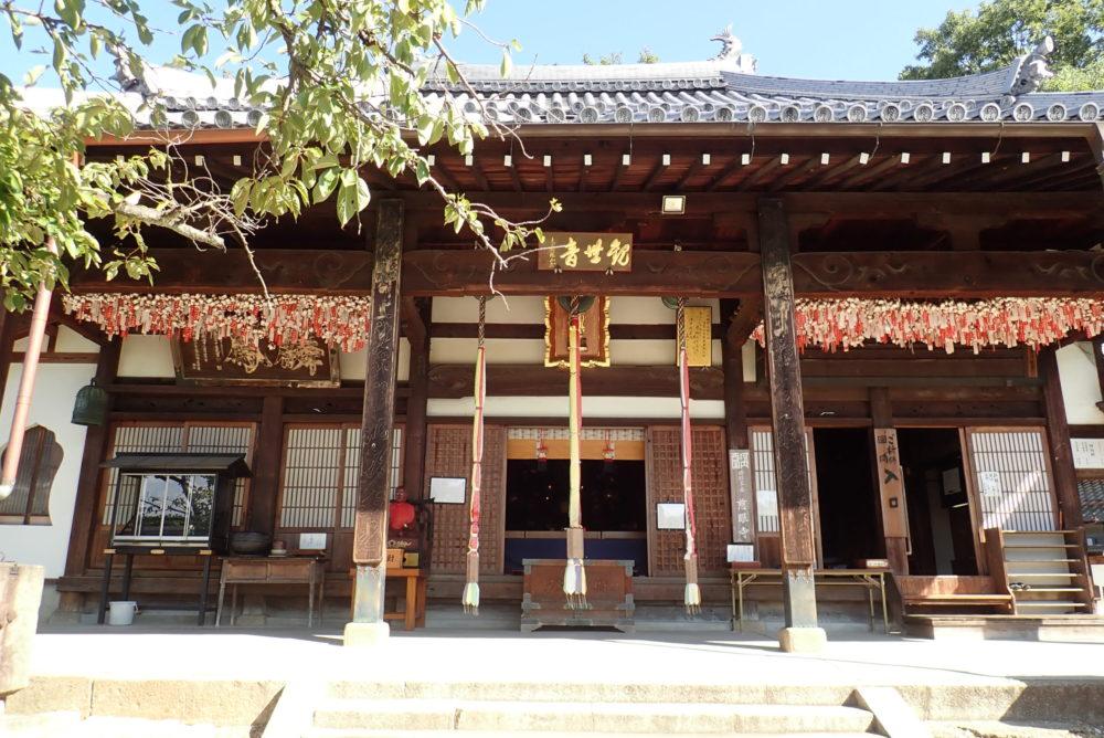 野崎観音の本殿